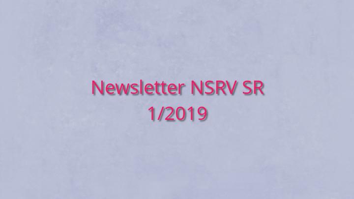 Newsletter Národnej siete rozvoja vidieka SR 1/2019
