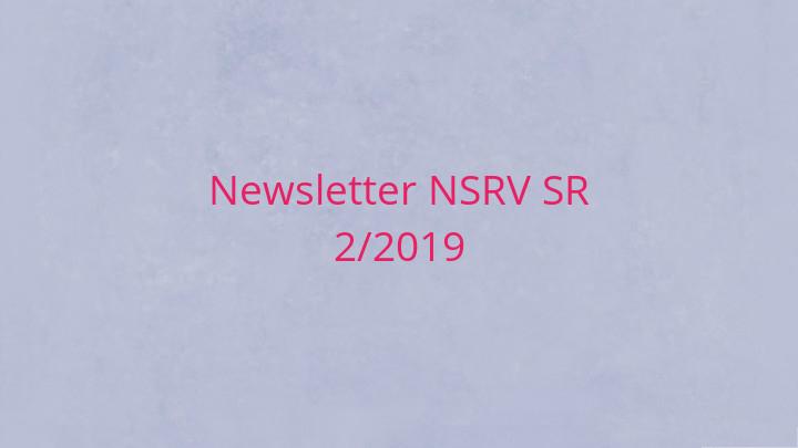 Newsletter Národnej siete rozvoja vidieka SR 2/2019