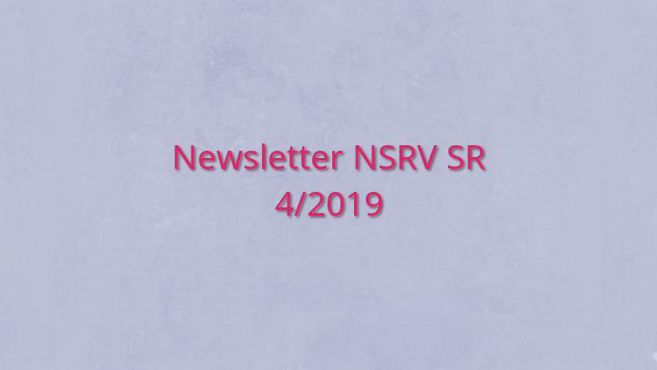 Newsletter Národnej siete rozvoja vidieka SR 4/2019