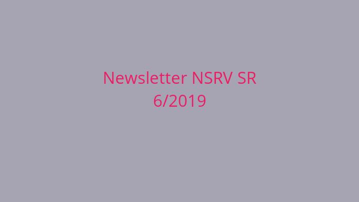 Newsletter Národnej siete rozvoja vidieka SR 6/2019