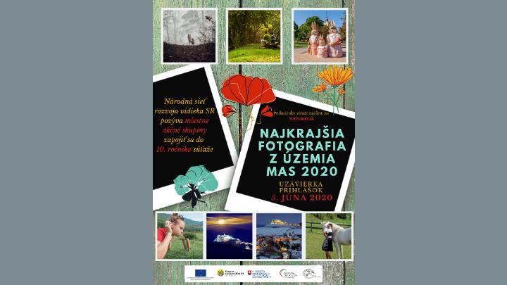 """10. ročník súťaže """"Najkrajšia fotografia z územia MAS 2020"""""""