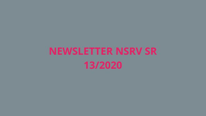 Newsletter Národnej siete rozvoja vidieka SR 13/2020